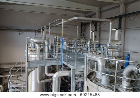 Tanks Sludge Digester Storage Dry Biogas Equipment