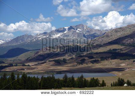 Altai Mountain Landscape