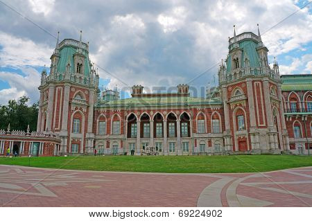 Palace Of The Russian Empress Catherine Ii In Moscow