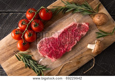 Grilling Strip Loin Steak Series: Raw Meat
