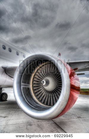 Red Plane Engine