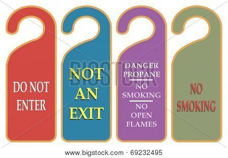 Prohibiting A Warning
