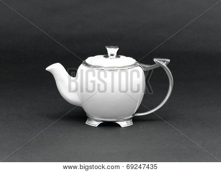 luxury porcelain teapot