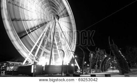 Brisbane ferris wheel