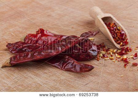 Chili On Wood