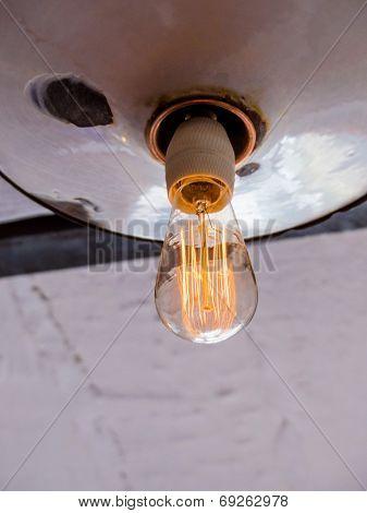 energy saving lamp, symbolic photo for energy saving, environmental protection, ecology
