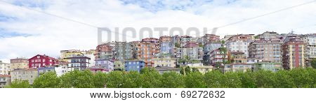 Residential Area In Istanbul