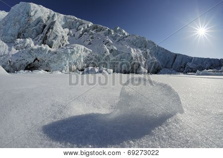 Pack ice shape