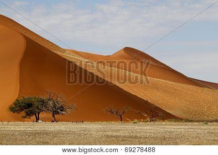 Desert landscape, Sossusvlei, Namibia, southern Africa