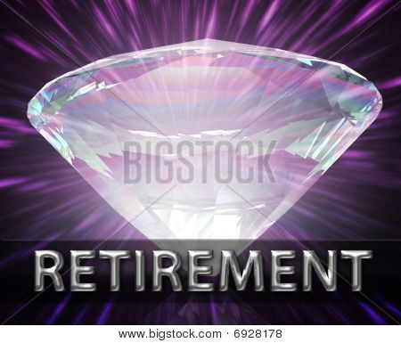Luxury Retirement Investment Concept