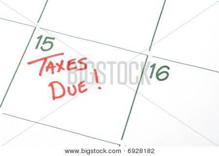 Taxes Due