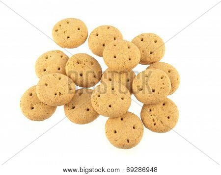 Round Dog Biscuits