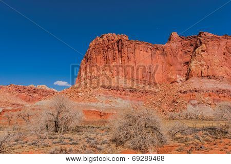 Capitol Reef Formation Utah
