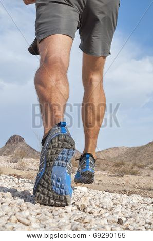 Rugged Cross Country Runner