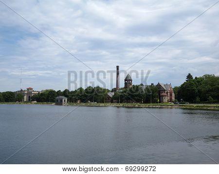 Historic Waterworks Building In Boston