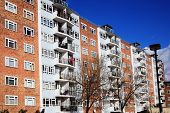 image of public housing  - Public council housing apartments in London - JPG