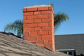 picture of shingles  - Roof construction site - JPG