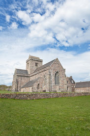 image of bute  - Iona Abbey is one of Scotland - JPG