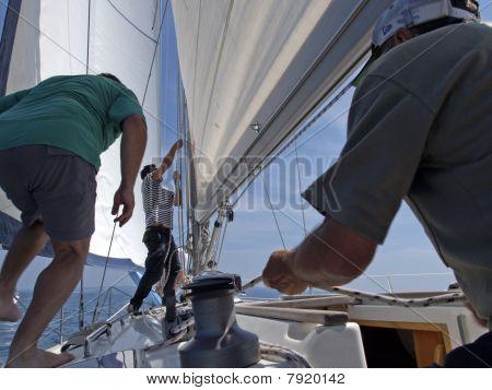 sailboat action