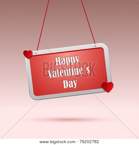 Valentines Wishes On Red The Tag
