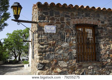 colonial stone house in Colonia del Sacramento