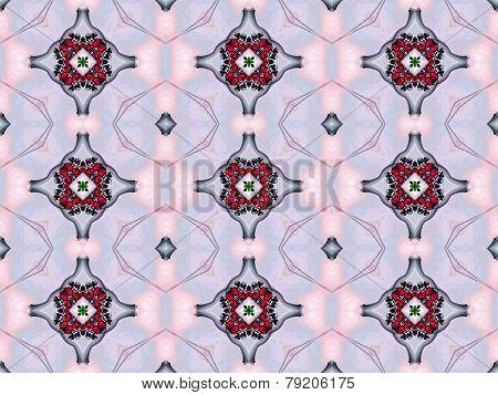 Smoky seamless pattern