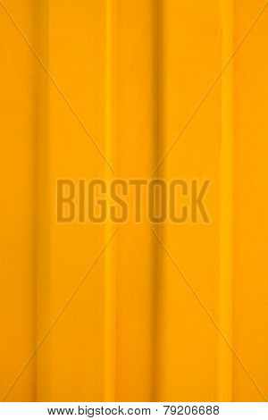Yellow Metal Background Closeup