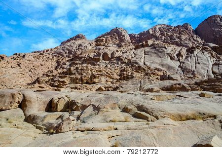 Rocky Sinai Mountains