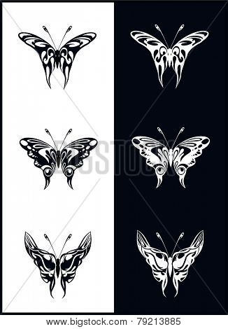 Butterflies - vector
