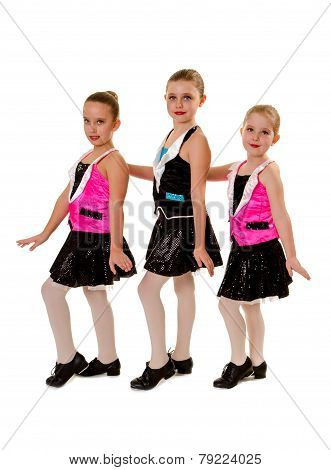 Junior Girls Tap Dance Group