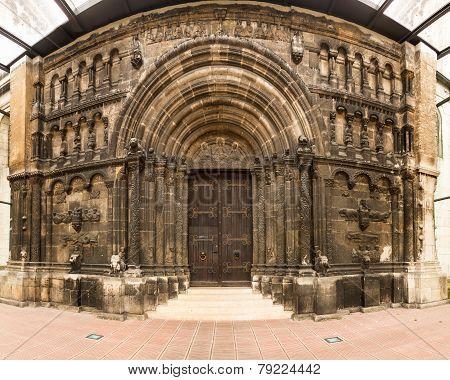 St Jacob Monastery Entrance Regensburg