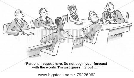 Business Forecasting Meeting