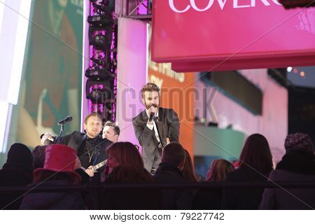 Band American Authors perform