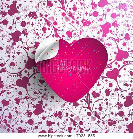 3d heart-Valentine's Day