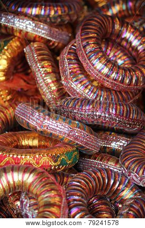 Indian Colorful Bracelets.