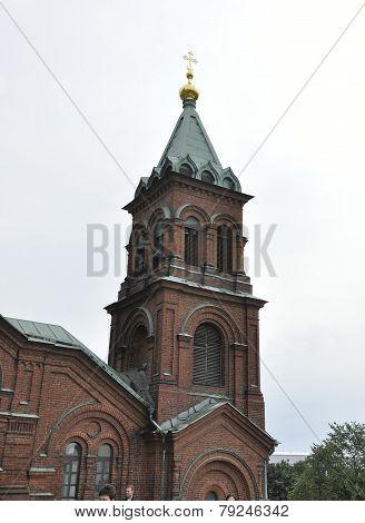 Cathedral Uspenski in Helsinki
