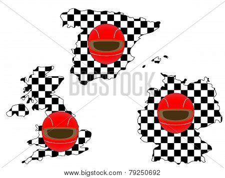 Racing Flag Maps 3