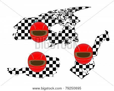 Racing Flag Maps 4
