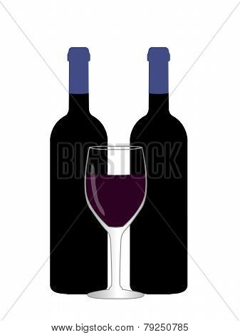 Wine Illustration 2