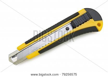 Yellow Utility Knife