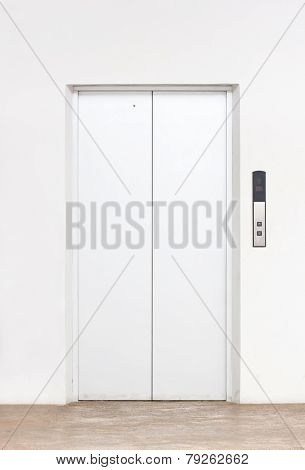 Single Elevator Door.