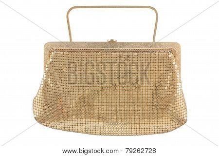 Golden Women Handbag