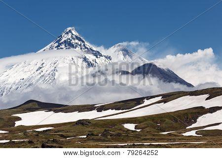 Volcanoes Of Kamchatka: Kamen, Kliuchevskoi, Bezymianny