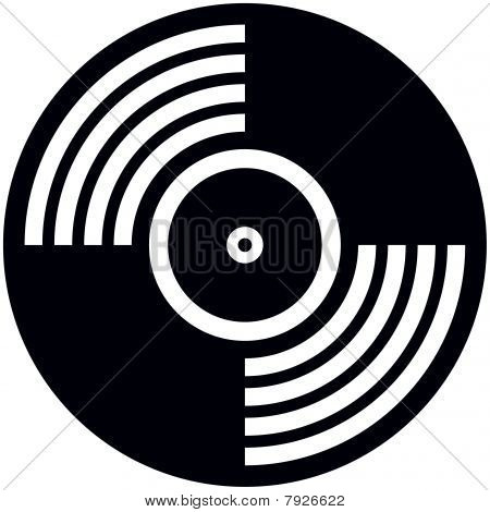 Vinyl disc - Vector illustration