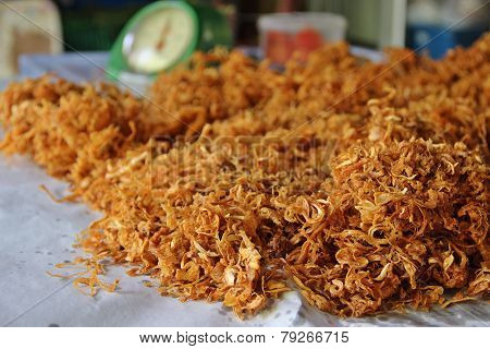 Ready to sell fried shredded