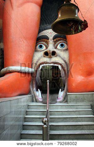 Entrance Door Of Hanuman Temple