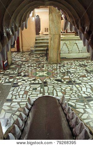 Inside The Hanuman Temple