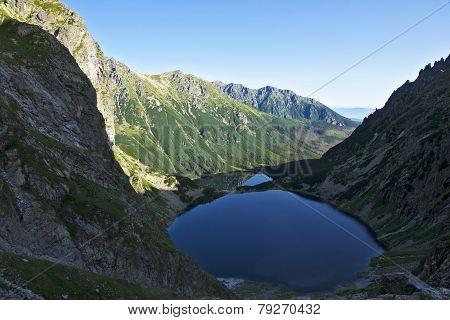 Mi?guszowickie Great Peaks In The Polish Tatra Mountains On The Lake
