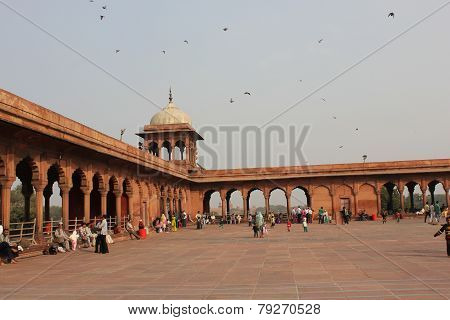 Court of Jama Masjid Of Delhi