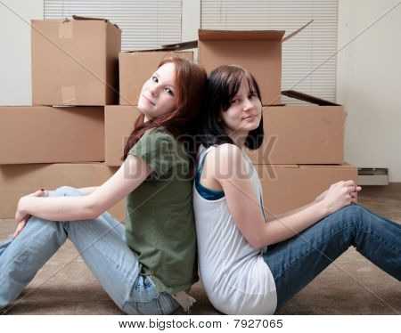 Sisters Moving